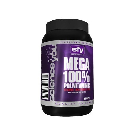 MEGA 100% POLIVITAMINIC FORMULA SFY