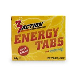 3Action Energy tabs (Pastillas energéticas)