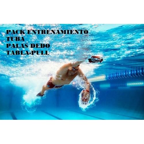 Pack Entrenamiento Tabla pull+Palas+Tuba
