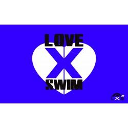 Toalla Lovexswim Blue Microfibra