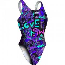 Bañador Chica TA Lovexswim Lilac