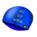 Gorro Lycra  Just Keep Swimming Dots LXS