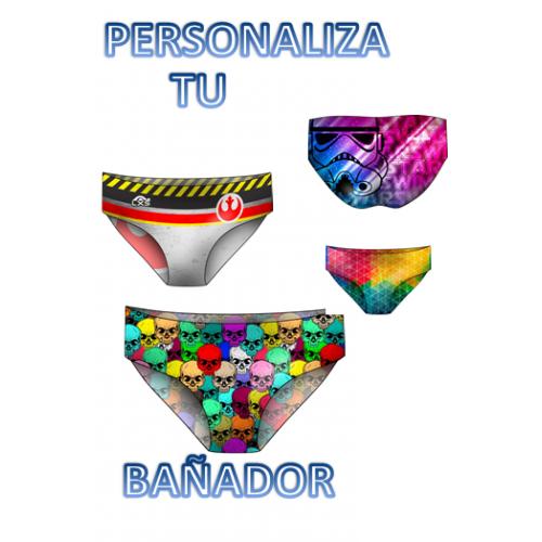 Bañador Chico LXS personalizado