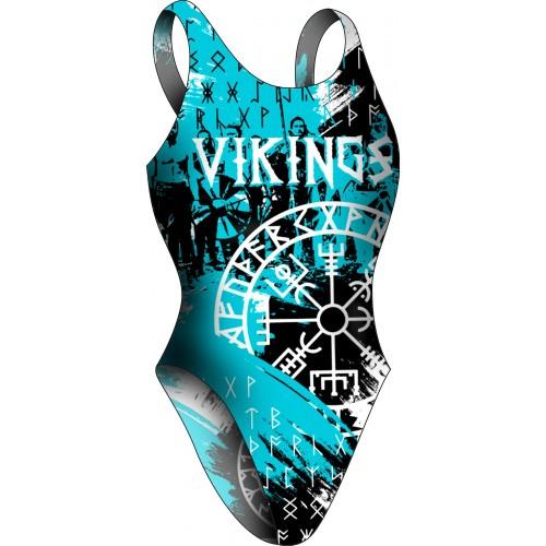 Bañador Chica TA Vikingos Blue