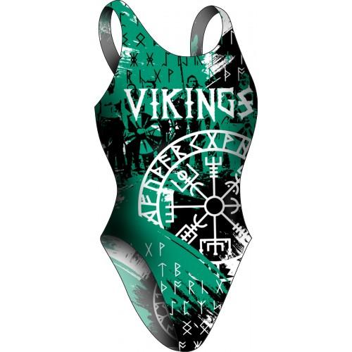 Bañador Chica TA Vikingos Green