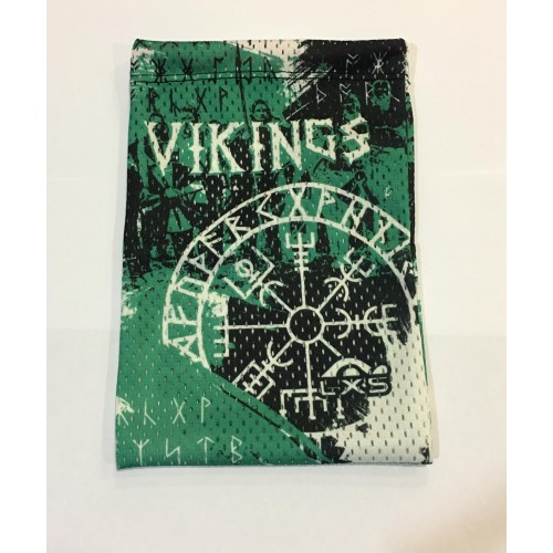 Mini Mesh Vikings Green LXS
