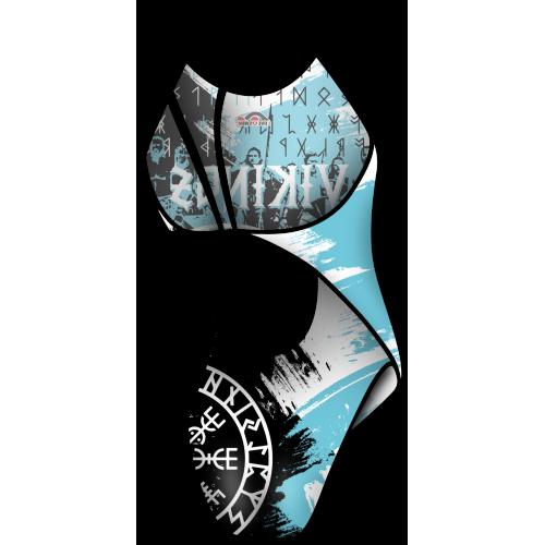 Bañador Chica TF Vikingos Blue