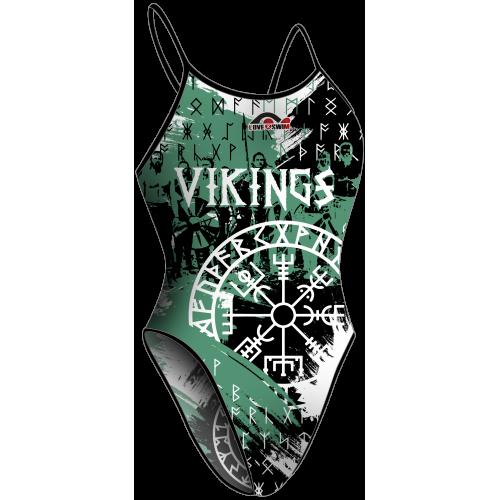 Bañador Chica TF Vikingos Green