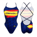 Bañador chica TURBO España 2019 (PATRON SIRENE)