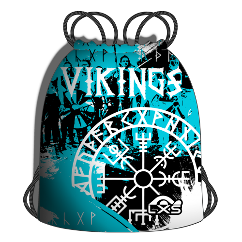 Red Material Vikingos Blue
