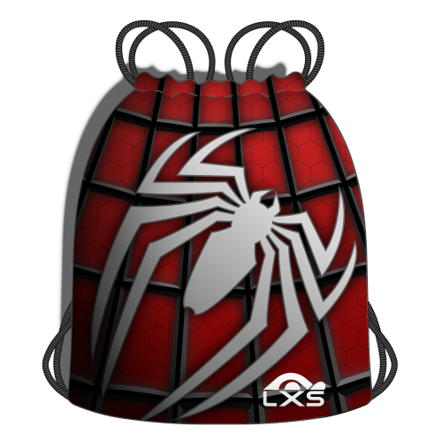 Red Material Spider