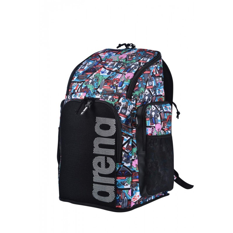ARENA Bolsa Team Backpack 45 Allover
