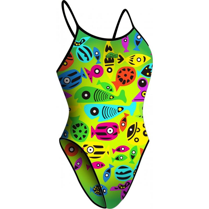 Bañador Chica TF20 Colorful Fish Lima