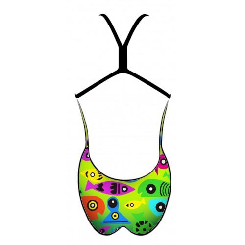 Bañador Chica TFC20 Colorful fish