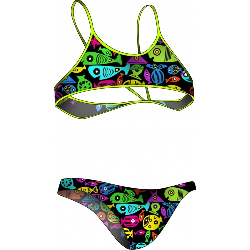 Bikini LXS Colorful Fish