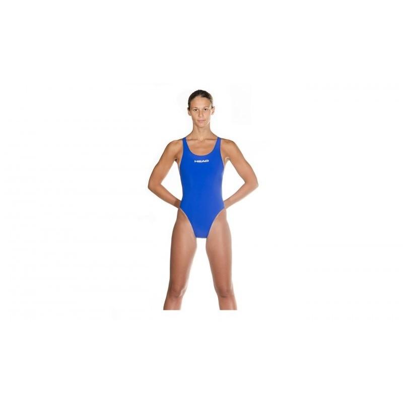 Bañador Head LiquidPower Suit  Light Blue FINA