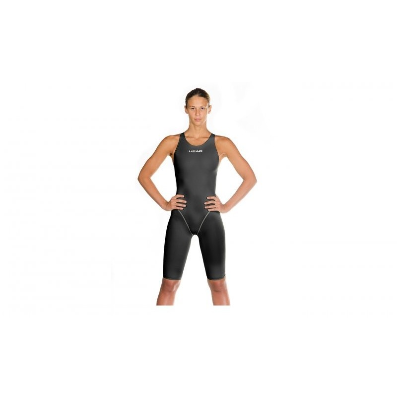 Mono Head LiquidPower Kneeskin black silver 2014 FINA